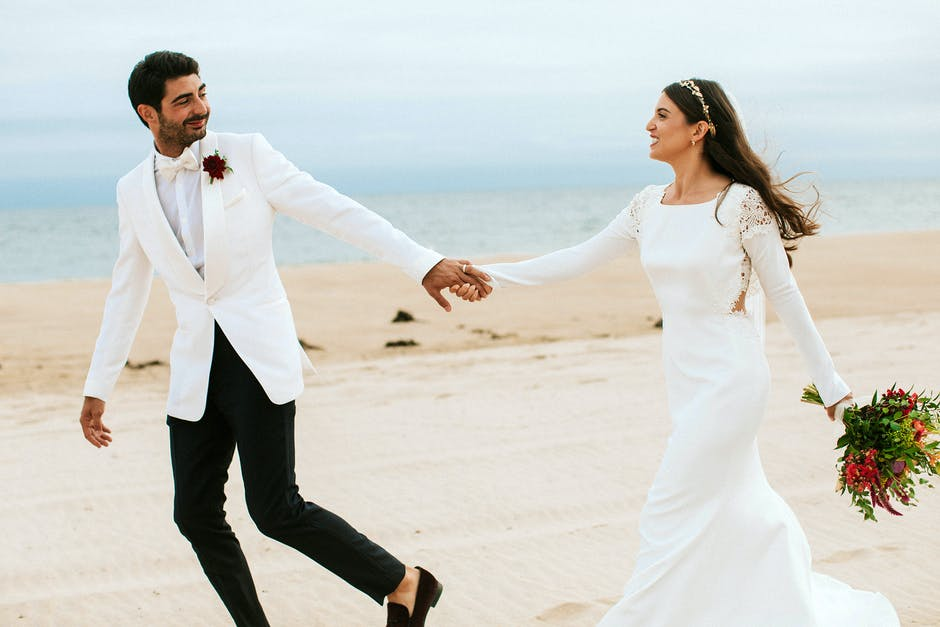 fotka novomanželů