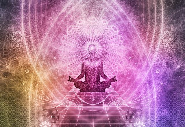 meditující poloha